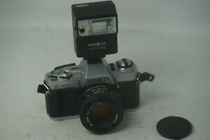 Minolta-x300-x-300-SLR-Film-Kamera-mit-Minolta-50mm-Standardobjektiv