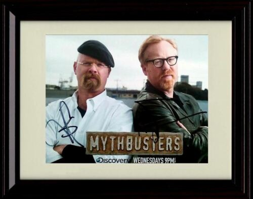 Framed MythBusters Autograph Promo Print Landscape