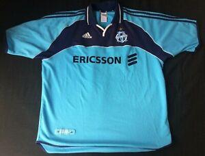 Détails sur Ancien Maillot Adidas OM Marseille Taille XL Ericsson France Shirt