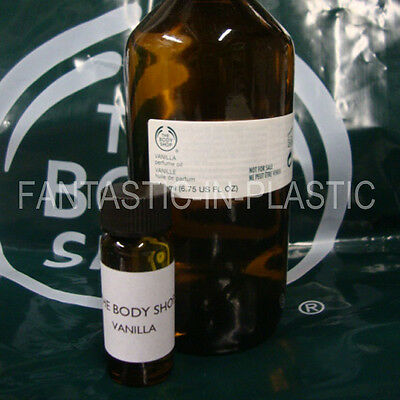 The Body Shop VANILLA perfume oil 15ml