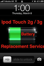 Ipod Touch 2G / 3G  2nd 3rd Battery Replacement Service