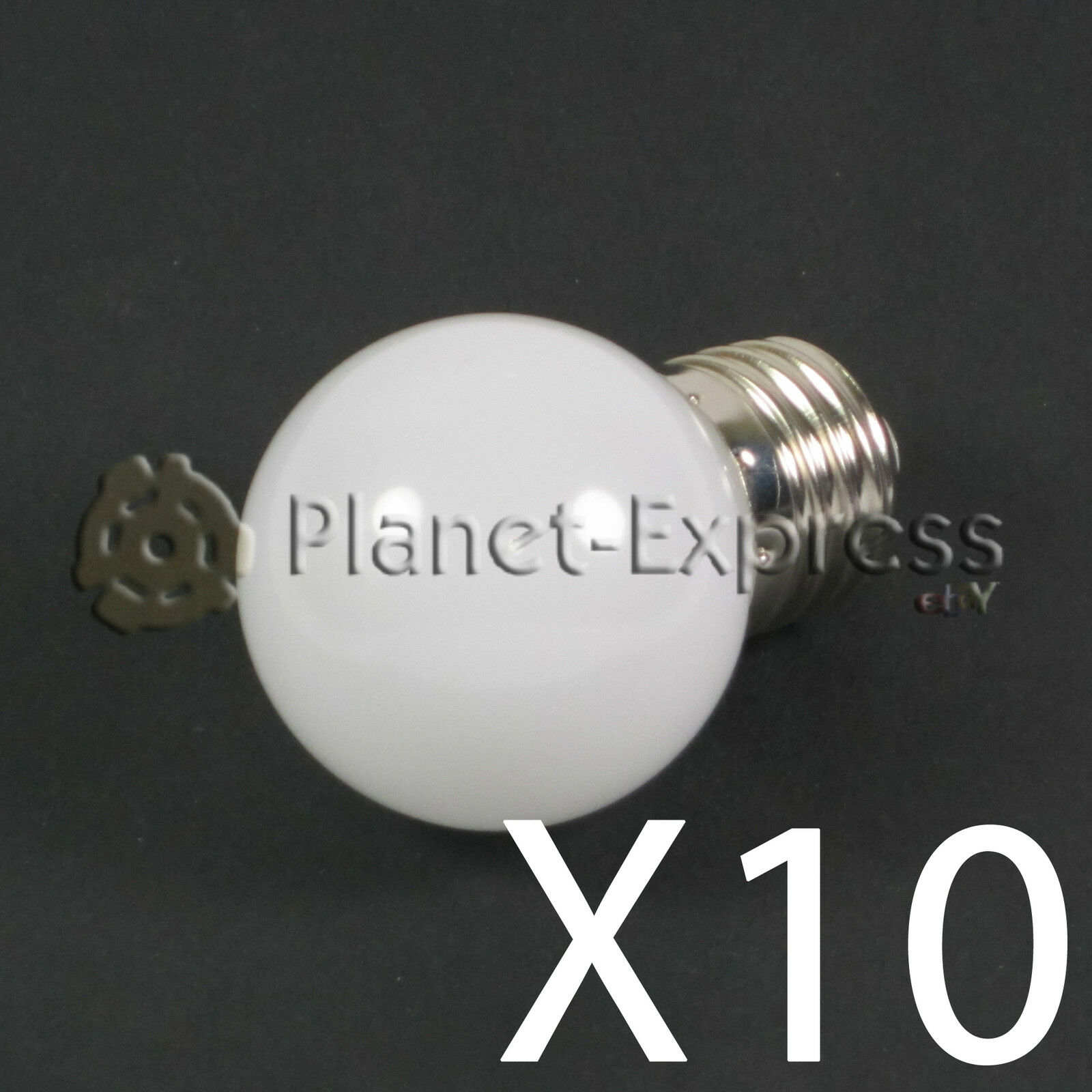 10 x Lampada 1W LED E27 Bianco Caldo 220V 90 Lumen Decorazione, Giardino SMD