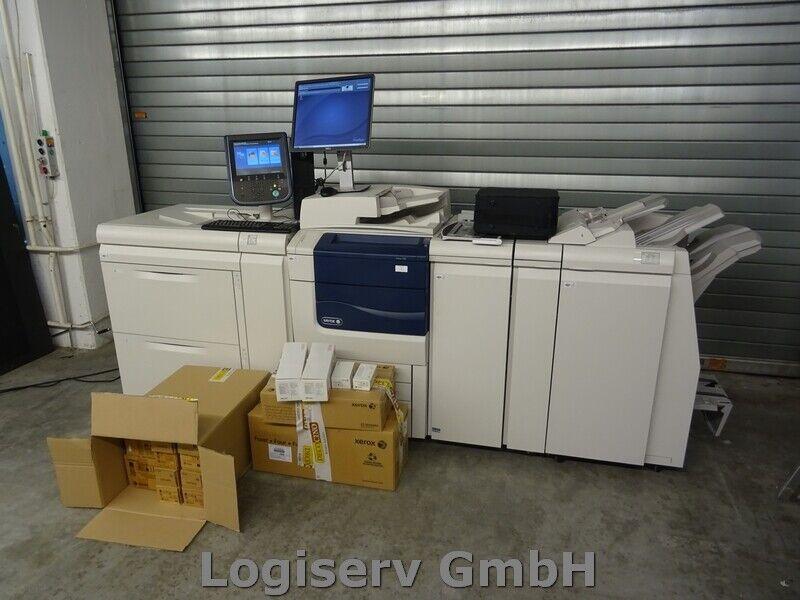 Bild 11 - Xerox Colour 550/560 Produktionsdrucker Digitaldrucksystem Druckmaschine Drucker