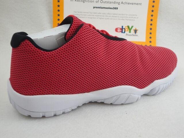 db2eb14474b Air Jordan Future Low 718948-600 3m University Red White DS Size 11 ...