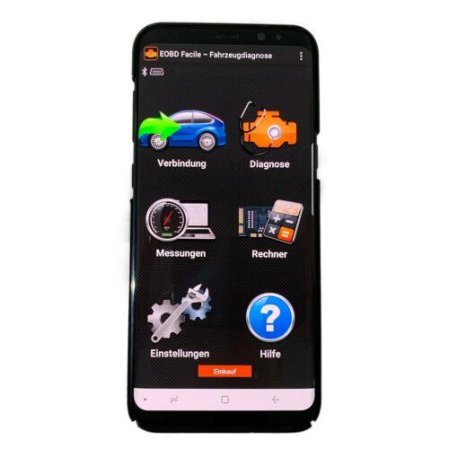 OBD 2 Autoscan KFZ Auto Bluetooth Diagnosegerät Android Handy PC ADAPTER Volvo