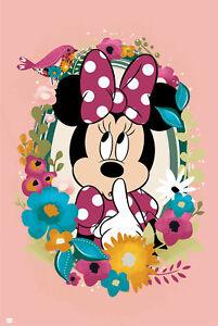 Minnie Mouse Evolution Tv Kinder Klassiker Poster Plakat Druck Disney