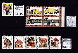 27.DDR 1978 aus Mi 2293 - 2302 ** - Deutschland - 27.DDR 1978 aus Mi 2293 - 2302 ** - Deutschland