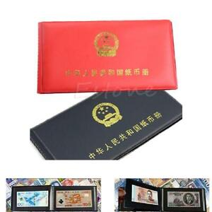New-Paper-Money-Collection-Pockets-Album-Book-Collecting-Holders-Storage