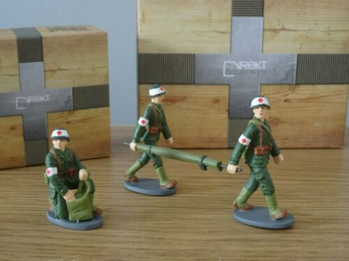 DIREKT FRENCH MILITARY ARMY MEDIC SOLDIERS FIGURES MODELS LLG2 1:43