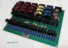 LPF low pass filter diplexer 1000W SSB CW HF amplifier LDMOS MOSFET 1,8-50 MHz