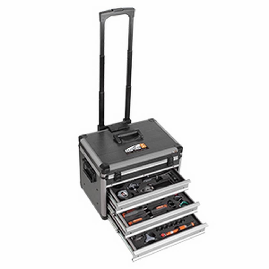 SUPER  B Cart 3 drawers + tools Super B TB-98800  fair prices