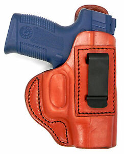 Details about TAGUA BROWN LEATHER RH IWB CONCEALMENT HOLSTER - TAURUS PT111  G2c