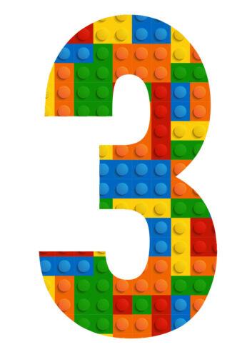 BLOCKS WHEELIE BIN NUMBERS 0-9 STICKERS