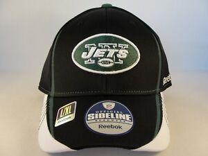 Image is loading New-York-Jets-NFL-Reebok-Onfield-Flex-Hat- 6c4217f68