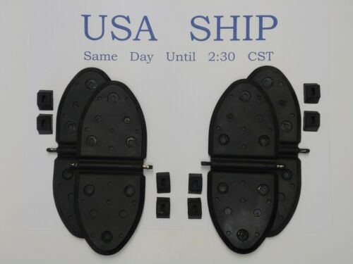 4 Each New Exhaust Flappers Water Shutters Replaces Mercruiser 807166A1 2 Pair