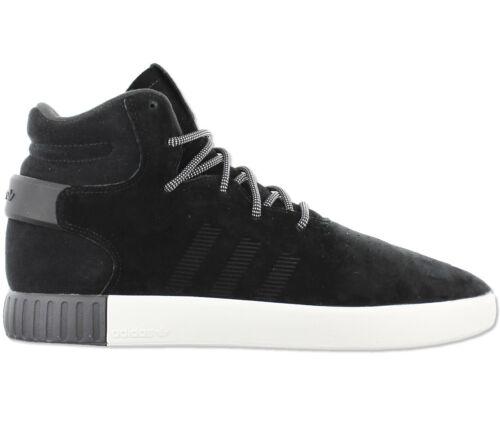 hombre Tubular Zapatillas Invader para Nuevo Adidas Originals S80243 piel negro U1wATPq14
