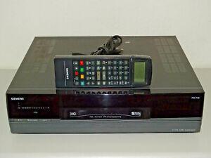 Siemens FM719 High-End S-VHS Videorecorder inkl. Fernbedienung, 2 Jahre Garantie