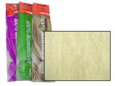 JAZZY KANEKALON JUMBO BRAID #1001 WHITE BLONDE HAIR DREADS