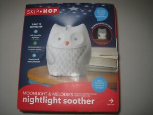 Skip Hop Moonlight Melodies Crib Soother And Baby Night Light Owl