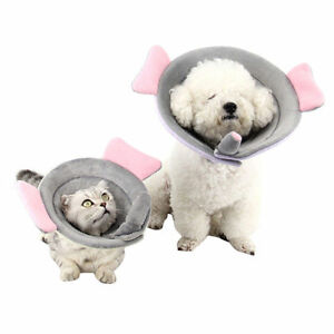 Pet-Sponge-Collar-Dog-Cat-E-Collar-Elizabethan-Wound-Healing-Protection-Medical