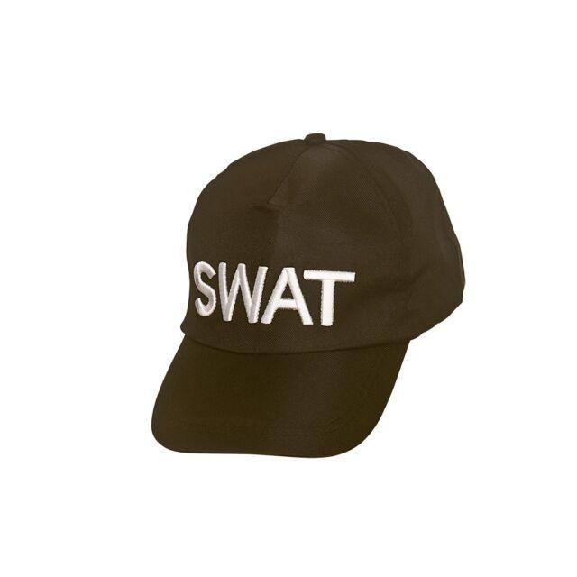 POLICE FANCY DRESS ACCESSORIES SWAT CAP