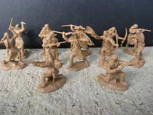 NEW-APACHE-INDIAN-PARAGON-WARRIORS-SET-2-1-32-54-MM-GERONIMO-TOY-SOLDIERS