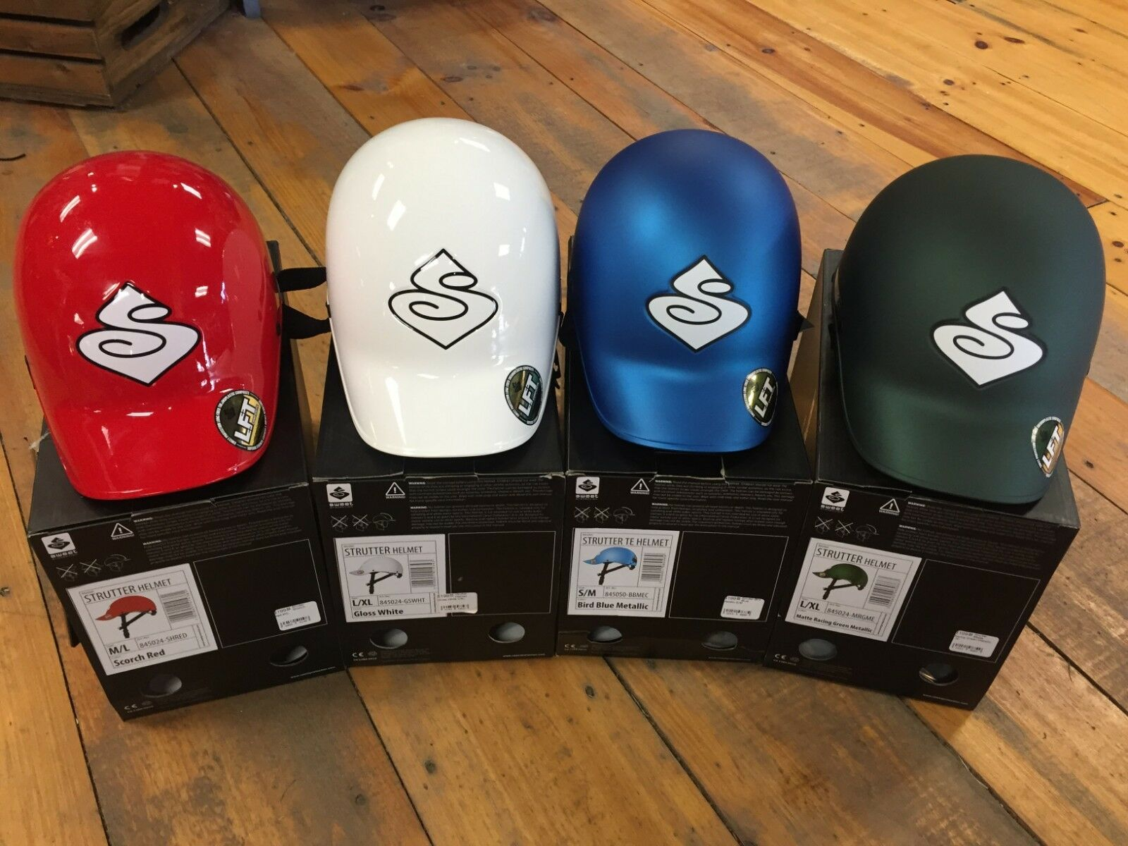 Sweet Predection Strutter Helmet - New   Free Shipping