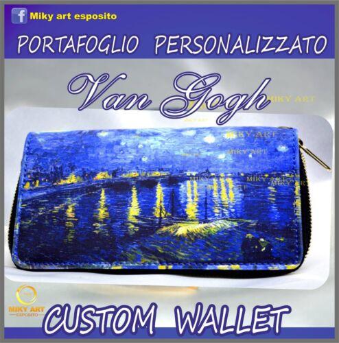 Wallet Starry Gogh photos personnalisᄄᆭes 2 avec Night Van Portefeuille de eWdrxoCB