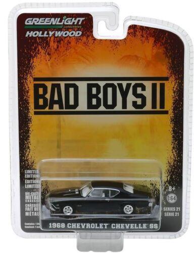 "2003 1968 Chevrolet Chevelle SS  /"" BAD BOYS II *** Greenlight  1:64 OVP"