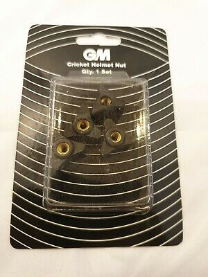 Gunn /& Moore Cricket Sports Helmet Spare Replacement Screw Nuts Only Pack Of 4
