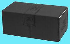 ULTIMATE GUARD TWIN FLIP n TRAY BLACK 200+ CASE XENOSKIN Standard Size Card Box