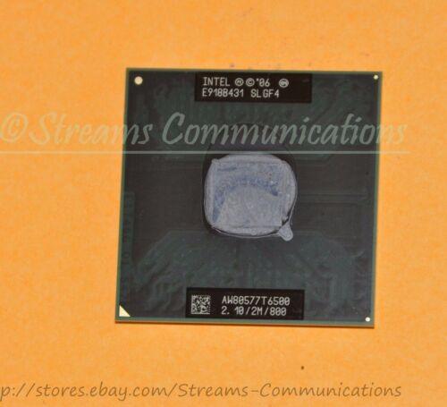 TOSHIBA P505 L505D Laptop CPU Intel Core 2 Duo T6500 2.1GHz 800MHz 2M SLGF4