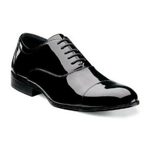 Stacy-Adams-Mens-Tuxedo-Shoes-Gala-Black-Patent-Leather-lace-up-24998-004