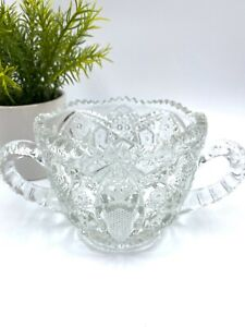 Antique-Lead-Crystal-Sugar-Bowl