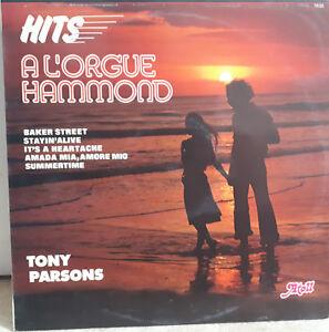 33T-Tony-PARSONS-Vinyl-LP12-034-HITS-ORGUE-HAMMOND-BAKER-STREET-AMOR-ATOLL-78025