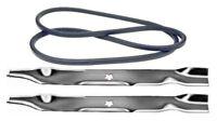 Husqvarna Yt 16542 42 Lawn Mower Deck Maintenance Kit Belt Blades Free Shipping