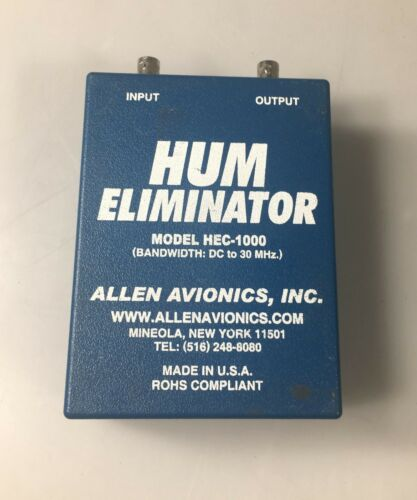 Allen Avionics HEC-1000 Video Hum Eliminator
