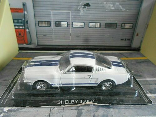 FORD Shelby 350 GT 350GT Mustang weiss white blue 1967 Altaya IXO Atlas SP 1:43