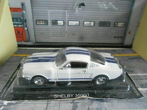 FORD Shelby 350 GT 350GT Mustang weiss white blue 1967 Altaya IXO Atlas SP 1:43