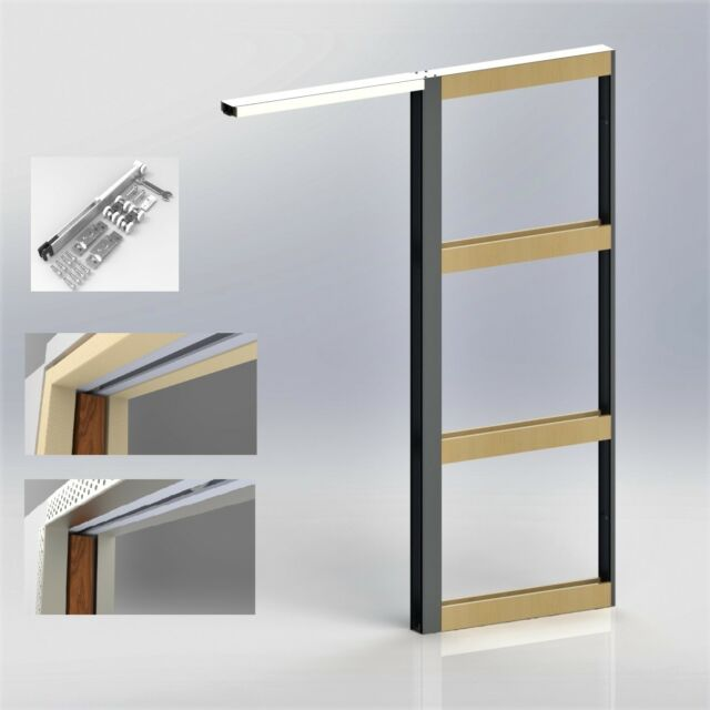 Cavity Sliding Door Frame 2040x820 by Premiumslidingdoors Pty Ltd on