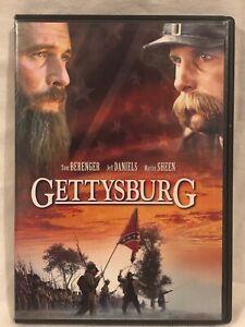 DVD-GETTYSBURG-Tom-Berenger-Guerra-Civil-Jeff-Daniels-Martin-Sheen