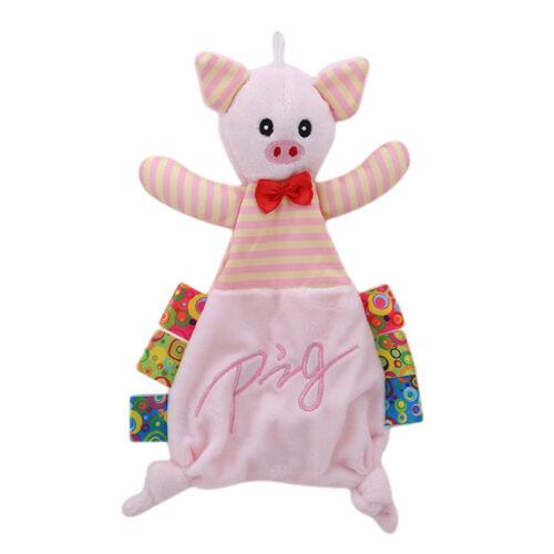 Babies Kids Plush Soothing Animal Toys Security Blanket Baby Soothing Towel RE