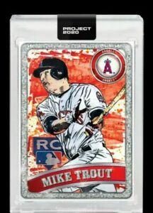 Topps-PROJECT-2020-2011-Mike-Trout-100-ANGELS-RC-Blake-Jamieson-guaranteed
