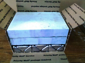 Aluminum Ingots 14 Lbs 8 To 10 Ingots Made From Casting
