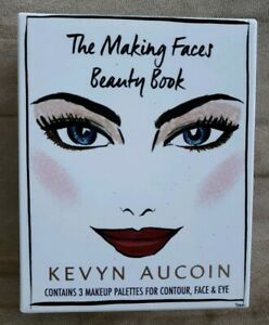 NEW-Genuine-KEVYN-AUCOIN-The-Making-Faces-Beauty-Book-Makeup-Palettes-Eyeshadow
