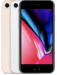 Apple-iPhone-8-64-256-GB-Silber-Space-Gray-Grau-Gold-Red-Rot-Farbe-waehlbar