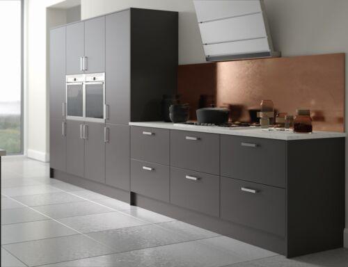Komplett Kuchen Ausstattungen Matt Anthracite Replacement Kitchen Cupboard Doors Drawers Fronts Premium Mobel Wohnen Anakui Com