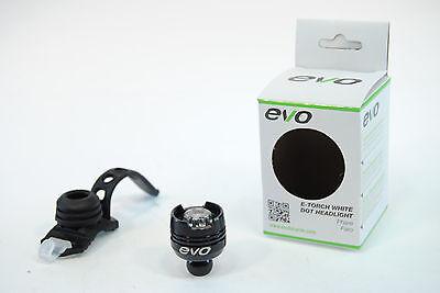BRAND NEW EVO E-TEC HL3 BICYCLE HEADLIGHT 3-LED 7000MCD