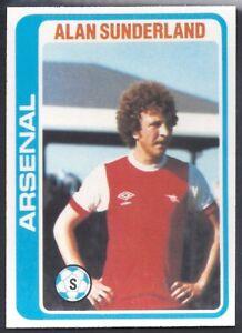 TOPPS-FOOTBALL-PALE-BLUE-BACK-1979-184-ARSENAL-ALAN-SUNDERLAND