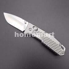 Sanrenmu 7063AUC-LK 7063 Gray Folding Knife Upgrade LB 763 for Camping Outdoors